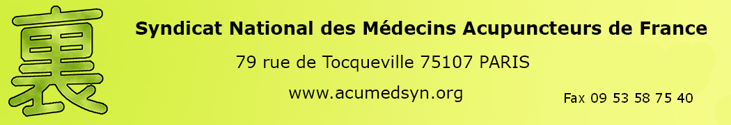 Syndicat National des Médecins Acupuncteurs de France